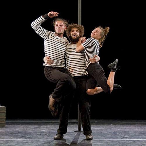 17h00 – « C'est mal parti » spectacle de cirque